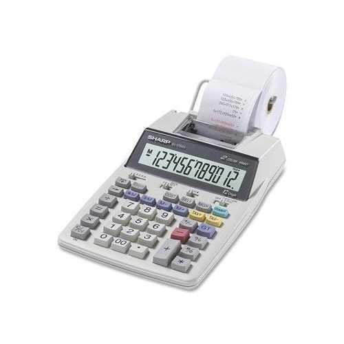 Sharp Print Calc With Calendar