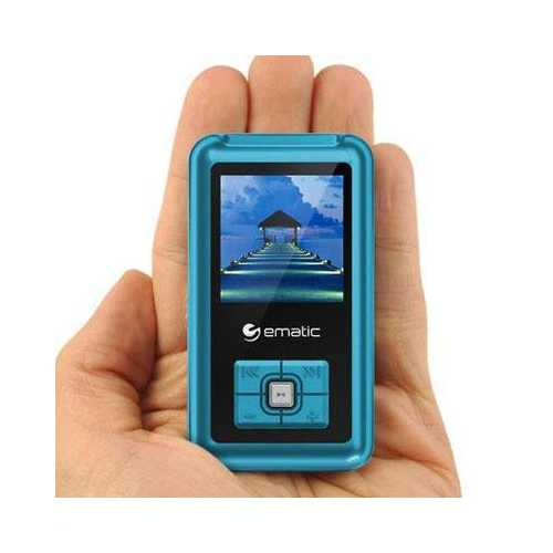 "1.5"" MP3 Video Player Blue"