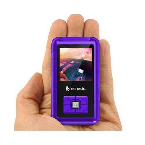 "1.5"" MP3 Video Player Purple"
