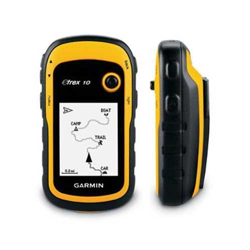 Etrex 10 GPS Handheld Yell Blk