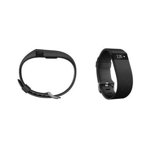 Fitbit Charge Hr Wrstbnd Blk S