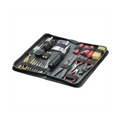 55 Piece Tool Kit Black