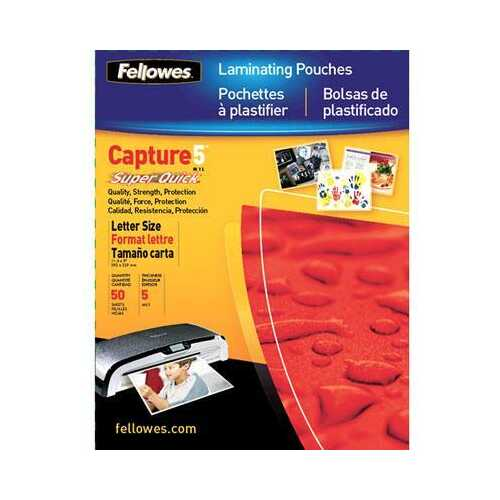 Laminating Pouch Letter 100pk