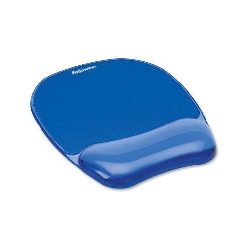 Blue Crystal Msepad/wrist Rest