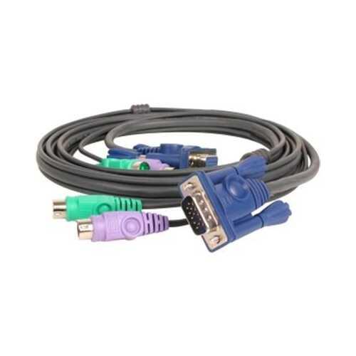 6' PS 2 KVM Combo Micro Cbl