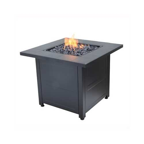 """30"""" Square Gas Firepit"""