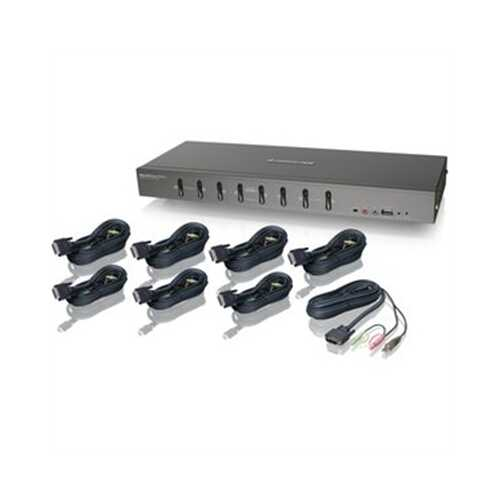 8 port DVI KVMP Kit