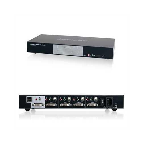4 Port DVI Kvm Switch