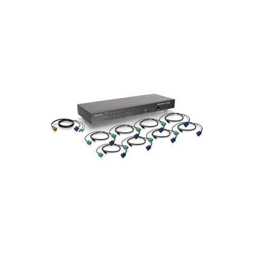 16 Port USB PS 2 Combo KVM