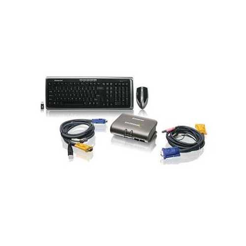2 Port Kvmp With Keyboard Mouse