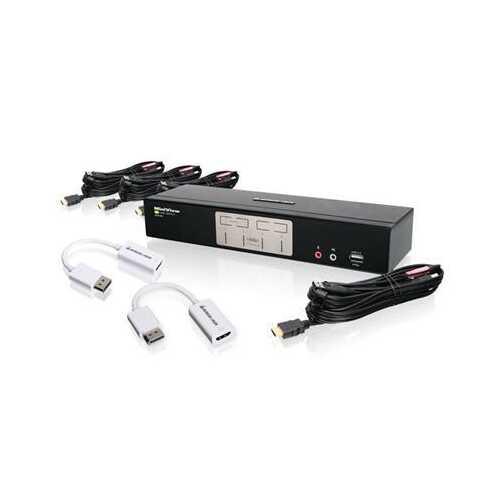 4port HDMI And Displayport Kvm