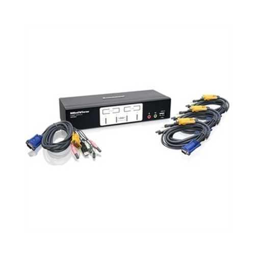 4 Port Kvmp Switch With 2.1 Au