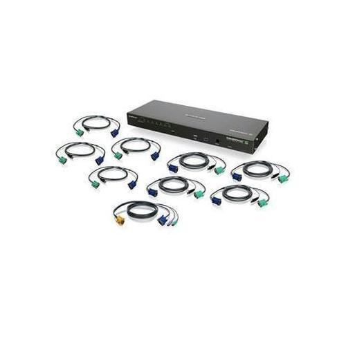 8port IP Based Kvm Kit USB Taa