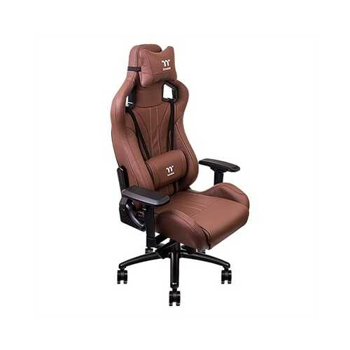 X FIT Real Leather Brown Chair