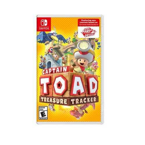 Captain Toad Treasure Tckr NSW