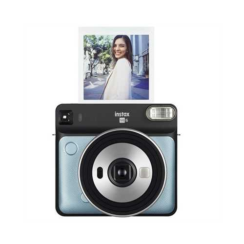 SQ6 Metallic Blue Inst Camera