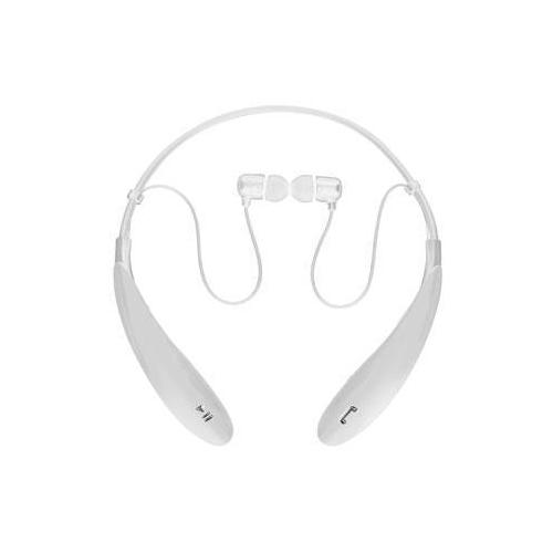 Bt Wireless Hdphones With Mic Wht