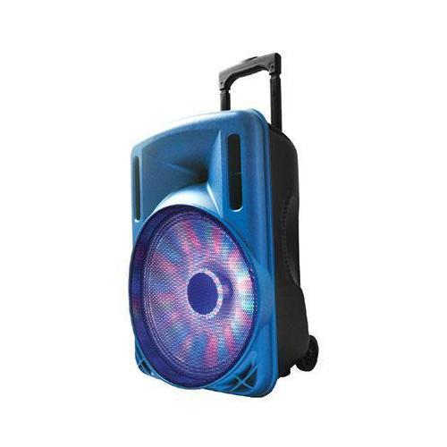 "12"" Portable Bluetooth DJ Speaker Blu"