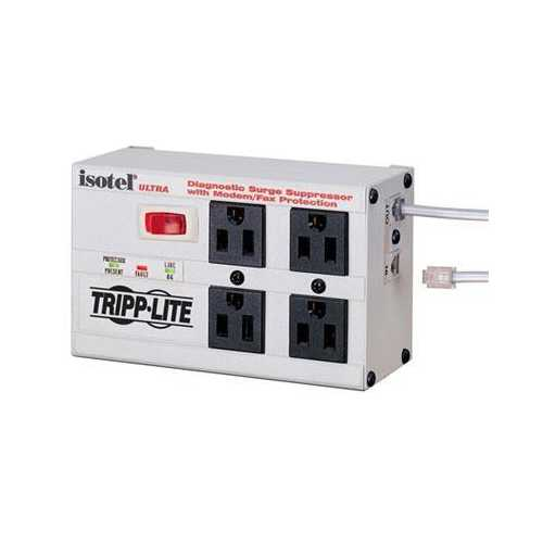 4 Outlet 2700j Surge With Rj11