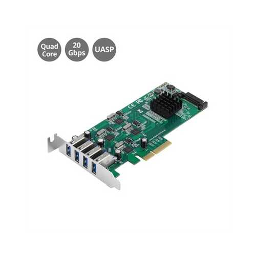 4Port USB 3.0 PCIe Quad Core