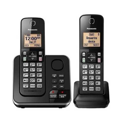 Two Hanset Cordless Phone
