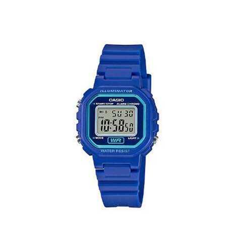 Ladies Color Digital Watch Blu