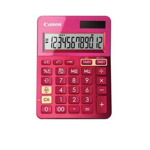 Canon Ls-123k Calculator- Mpk