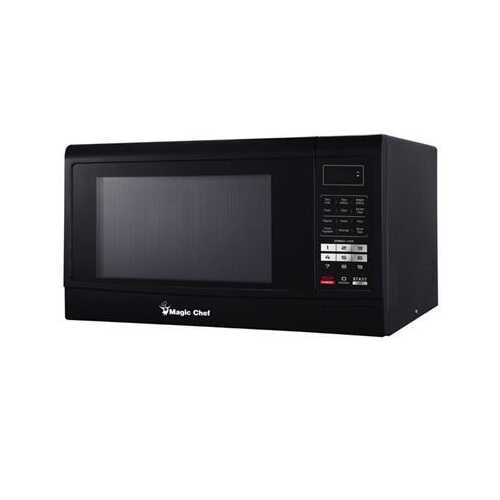 1.6 Microwave Oven Black