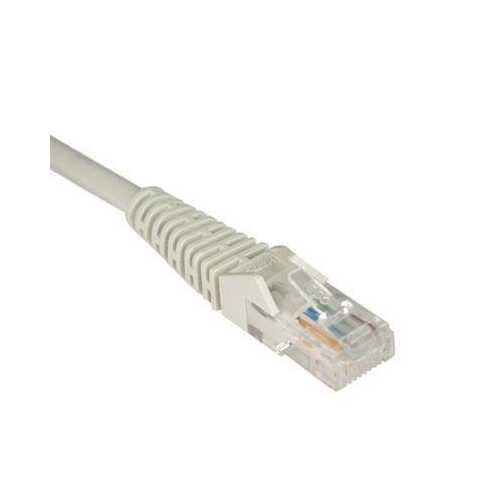 100' Cat5e Snagless Patch Gray