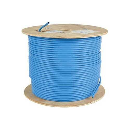 1000' CAT6 Bulk Cbl Blue