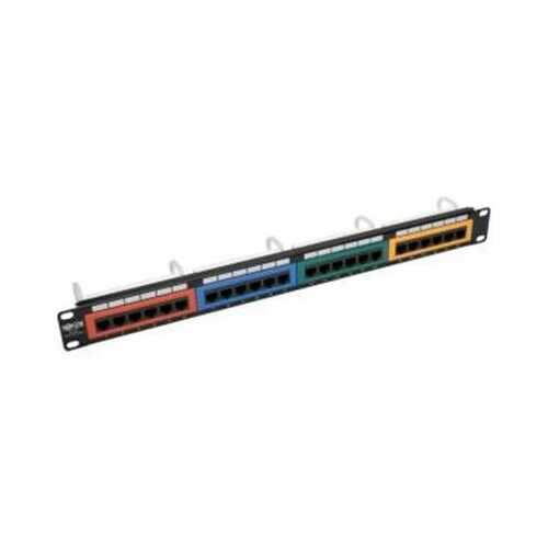 24Port Cat6 Patch Panel Clrd