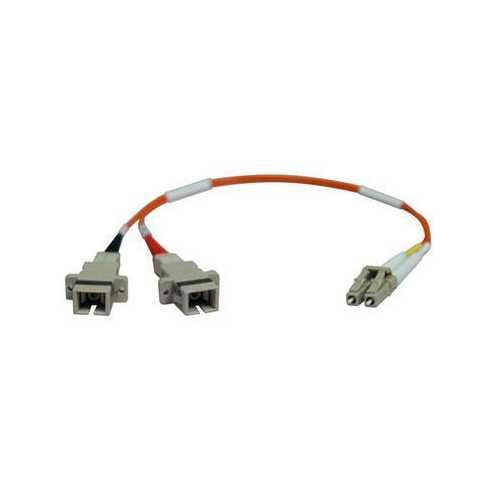 1ft LC SC 62.5 125 Fiber Adapt