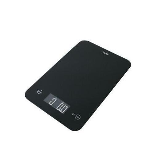 Thin Digital Kitchen Scale Blk