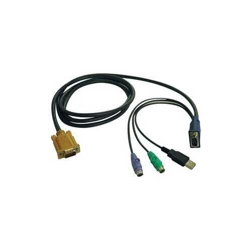 10ft USB/PS2 KVM Cable Kit