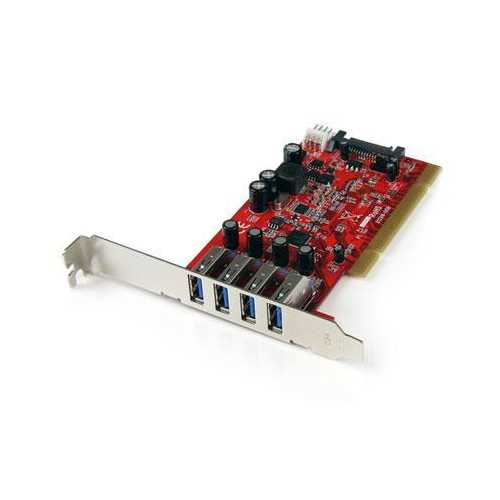 4 Port PCI USB 3 Adapter Card