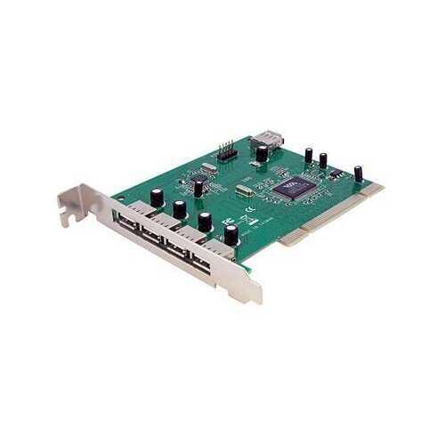7 Port Pci USB Adapter Card