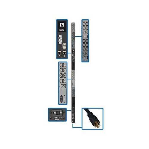 3ph PDU Monitored 42 C13 6 C19