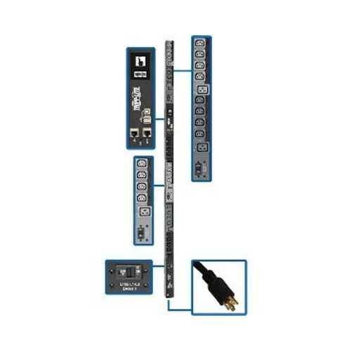3ph PDU Switched 24 C13 6 C19