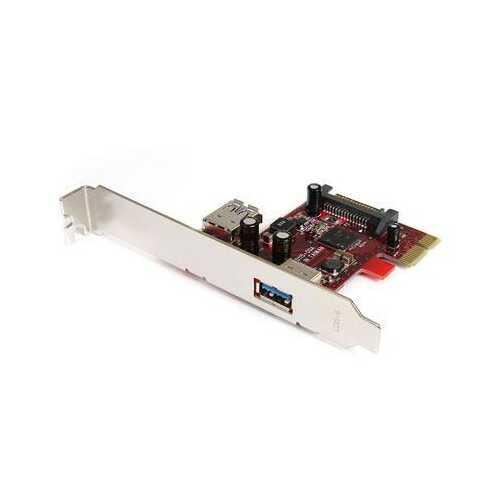 Pcie USB 3 Card 1 Int & 1 Ext