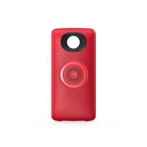 Moto Stereo Speaker Red