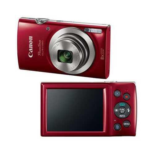 PowerShot ELPH 180 20MP Red