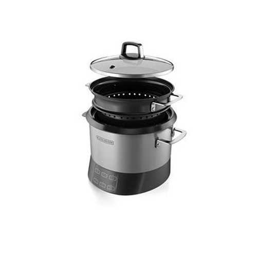 BD Rice Cooker Silver Blk