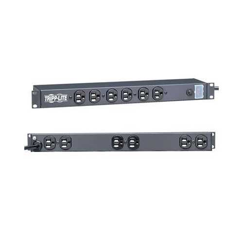 12 Outlet 15a Rm Power Strip