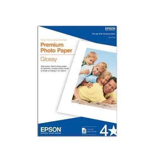 Glossy Photo Paper B size 20pk