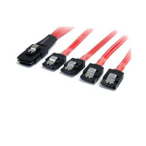 SAS Cable SFF8087 to 4x SATA