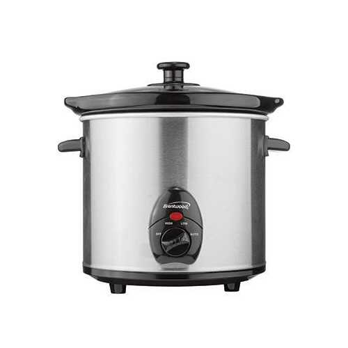 Slow Cooker Stainless 3qt