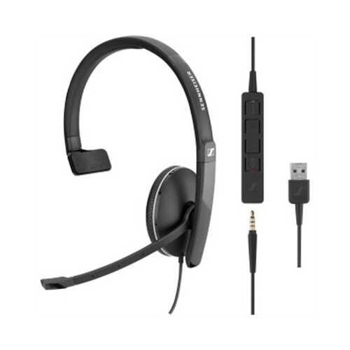One Side headset 3.5mm w USB