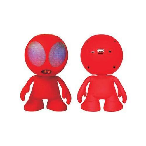Alien Bluetooth Speaker Red