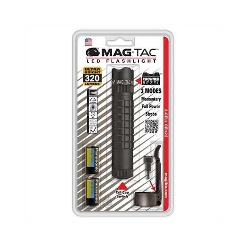 Magtac LED Flshlght Blk Crwn
