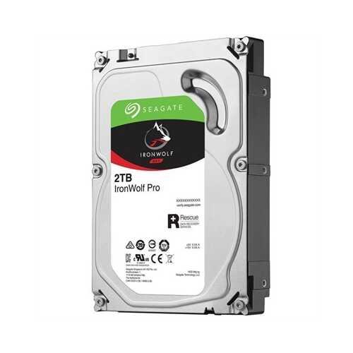 2TB IronWolf Pro 3.5 HDD